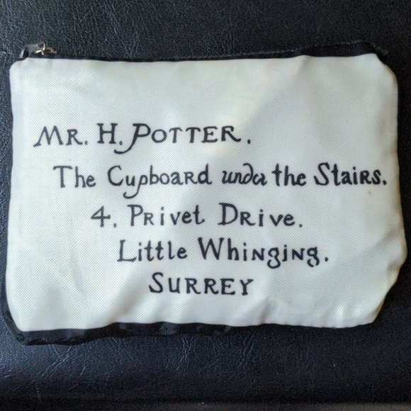 Harry Potter House Crest packable tote